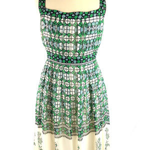 Anthropologie ANNA SUI 100% Silk Sleeveless Dress